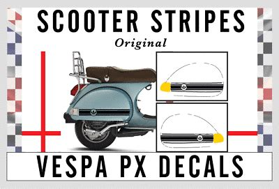 side panel stickers fits vespa px t5 scooter the jam mod target decal sp5 39 26 picclick