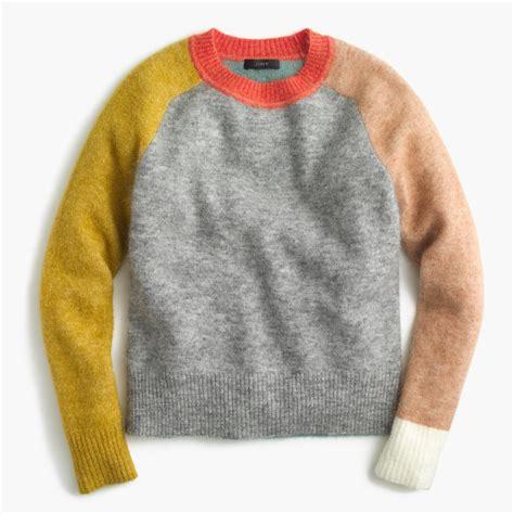 Colorblock Sweater Womens Sweaters Jcrew