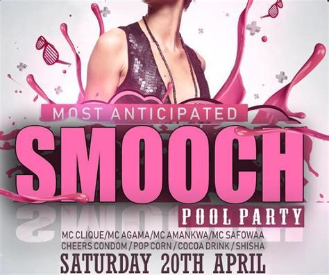 2019 Smooch Pool Party Scheduled For April 20, Cheers ...