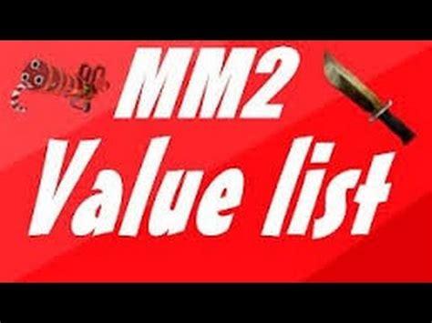Roblox Mm2 Knife Values | Mungfali