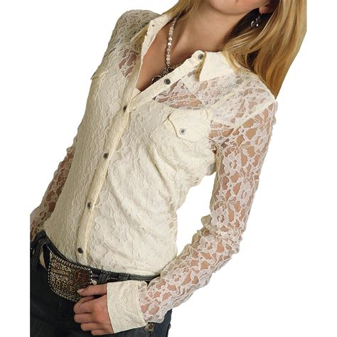 lace blouse roper five lace blouse sleeve for