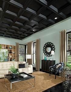 Zimmerdecken Neu Gestalten : vorschlaege wandgestaltung wohnzimmer mit stein ~ Sanjose-hotels-ca.com Haus und Dekorationen