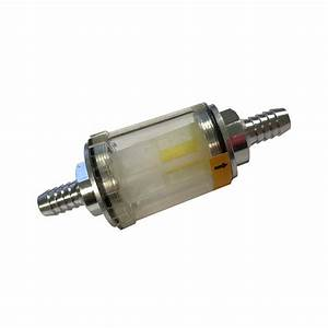 One Way Flow Valve 3  8 U0026quot  In Line Fuel Filter With Check