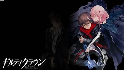 Guilty Crown Shu Inori Anime Ouma Yuzuriha