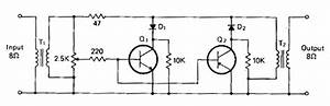 Audio Powered Noise Clipper Circuit Diagram  62421