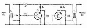 Audio Powered Noise Clipper Circuit Diagram  62421