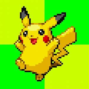 Pokemon Original Pikachu Sprite - Hot Girls Wallpaper