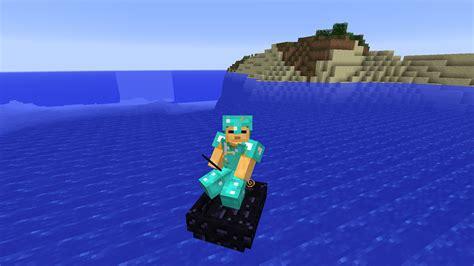 Minecraft Obsidian Boat by Obsidian Boat Minecraft Mods