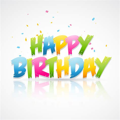 happy birthday card   vectors clipart