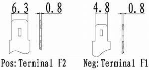 6v 14ah Sealed Lead Acid Battery With  F2