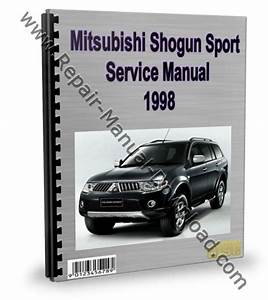 Mitsubishi Montero Pajero Sport 1998 Service Repair Manual