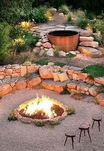Feuerstellen Im Garten Selber Machen : 84 verbl ffende fotos von feuerstelle f r terrasse ~ Indierocktalk.com Haus und Dekorationen