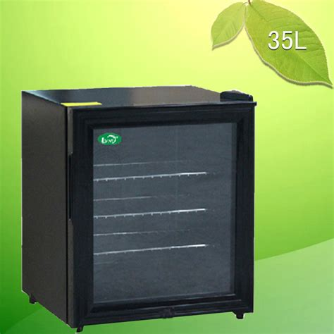 Supplying 35L small refrigerator room glass door ...