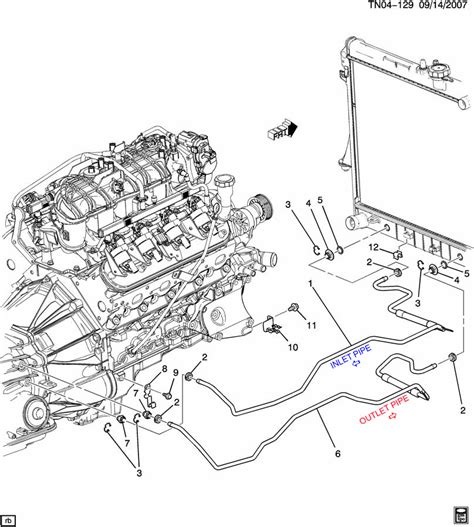 2000 Chevy Tahoe Transmission Diagram by Cooler Line Diagram Wiring Diagram