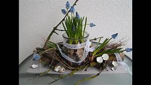 Osterdeko Aus Naturmaterialien : osterdeko tutorial muscariplatte youtube ~ A.2002-acura-tl-radio.info Haus und Dekorationen