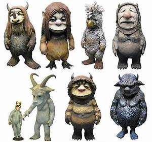 Where the Wild Things Are Vinyl Figurines Max, Alexander ...