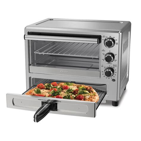 drawer oven oster 174 stainless steel convection oven with pizza drawer tssttvpzds oster