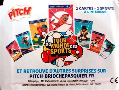 Carte Nouveau Monde 2017 by Tour Du Monde Des Sports 30 Cartes Pasquier Pitch 2017