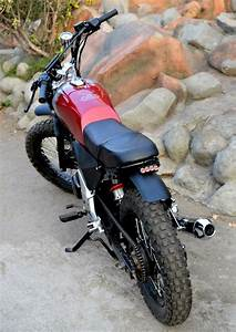Modified Honda CB Unicorn 150 Scrambler by Furious Customs