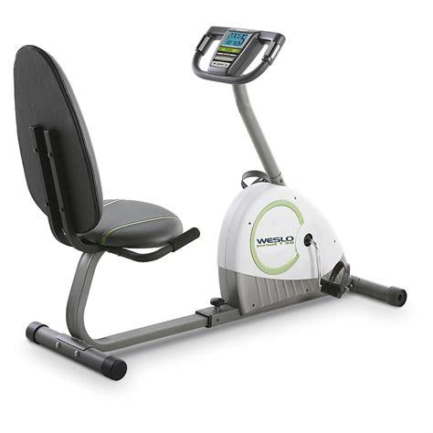 Weslo® Pursuit Recumbent Exercise Bike - 174845, at ...