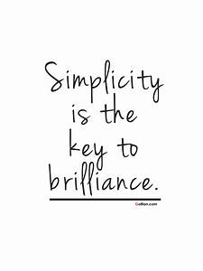 60+ Best Simplicity Beauty Quotes Images – Famous Simple ...