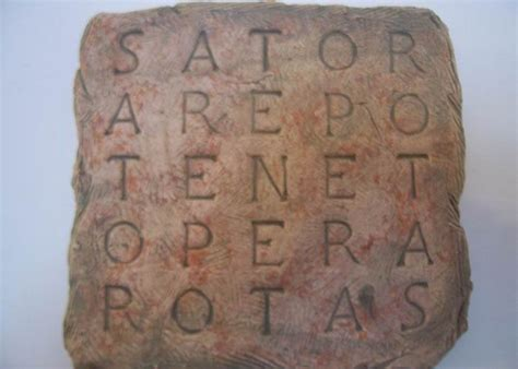 The letters s and n are reversed like for an ambigram. 1000+ images about SATOR square on Pinterest | Opera ...