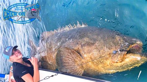 Operating Nurse Fishing For Monster Fish In Florida