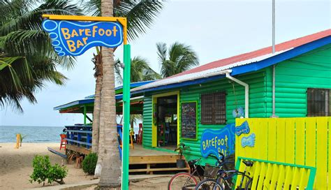 Barefoot Beach Bar In Placencia Belize Movin On Up To