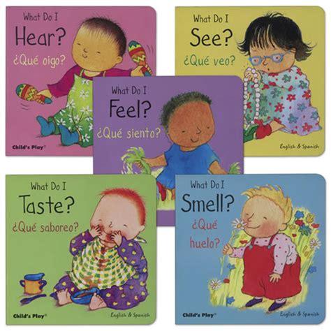 my five senses bilingual board books set of 5 by kaplan 714 | 71936