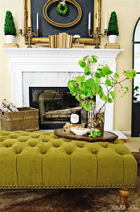 living room with ottoman how to create a coffee table vignette discover