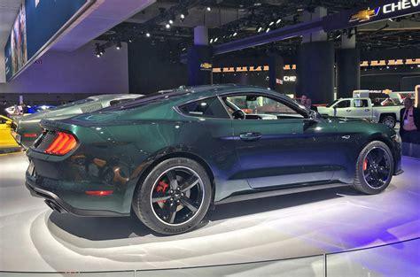 2018 Ford Mustang Bullitt Tackles Goodwood With Original