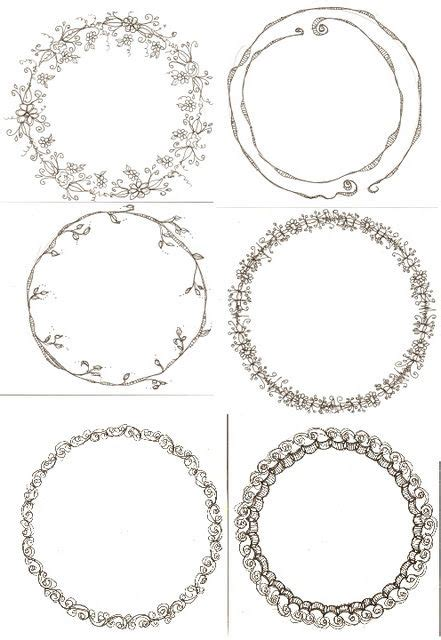 circle labels ideas  pinterest blank