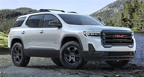 gmc acadia unveiled    hp  engine