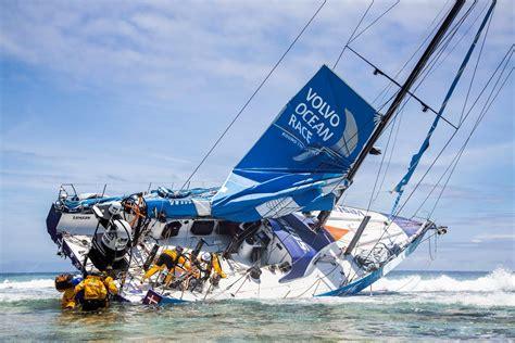 volvo ocean race  team brunel feiert ersten
