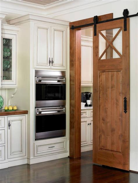 sliding kitchen doors interior avoid the dreaded swing door a barn door separates
