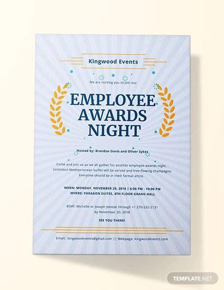 award ceremony invitation designs psd ai vector