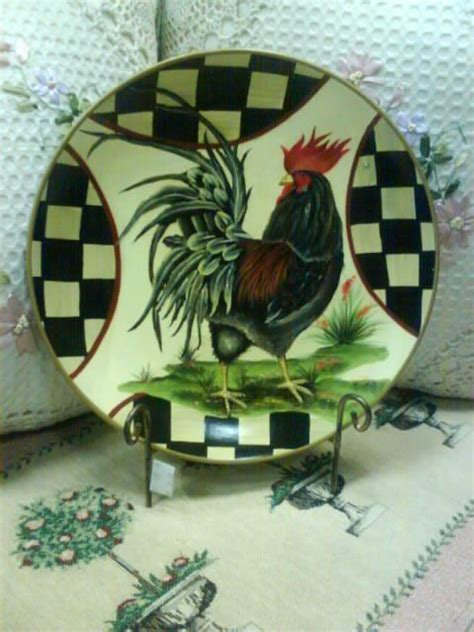 Decorative Chicken Plates - 169 best chicken plates images on roosters