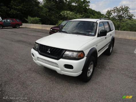 Mitsubishi Lees Summit by 2002 Summit White Mitsubishi Montero Sport Ls 4x4