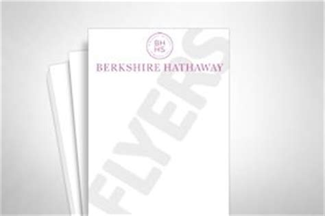 berkshire hathaway printing products template gallery