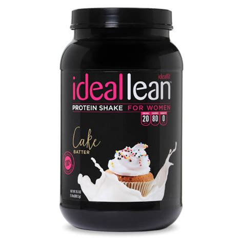 cake batter protein powder  women idealfit