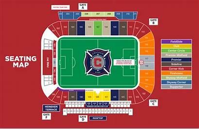 Chicago Map Seating Fire Stadium Seatgeek Chart