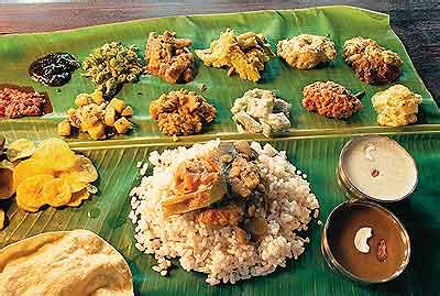 Kerala Food Cuisine Recipe South Indian Food Traditional