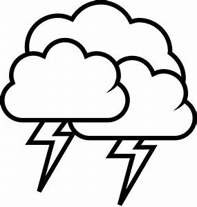 Tango Weather Storm - Outline Clip Art at Clker.com ...