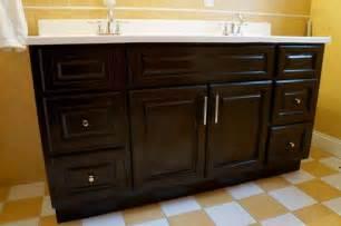 gel stain vanity overhaul for the home pinterest