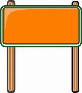 highway sign orange - /blanks/road_signs/highway_signs ...