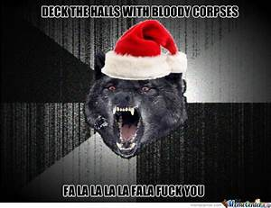 Insanity Wolf Christmas by thehole - Meme Center