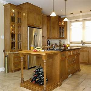 Stunning cuisine merisier moderne gallery joshkrajcikus for Awesome meuble de cuisine moderne 12 salle de lavage moderne griffe cuisine
