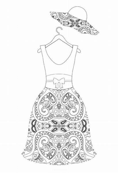 Coloring Pages Printable Sheets Doodle Adult Books