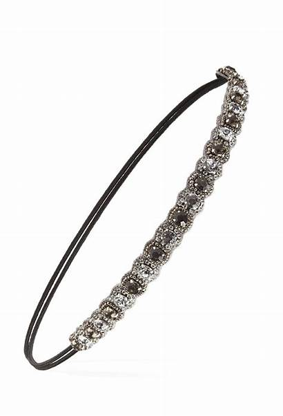 Jeweled Headband Headbands Forever Pearl