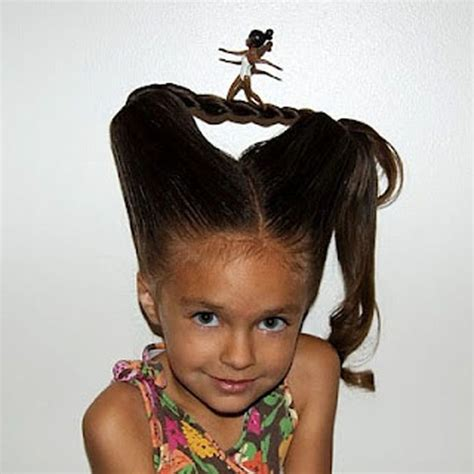 fun idea for crazy hair day at school http